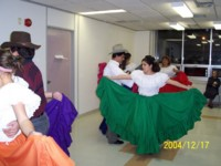Highlight for Album: Dancers from Ruben Dario at CCA, Heron Comm. Centre - 2004, Christmas