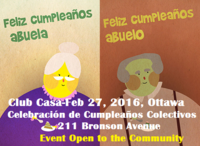 Highlight for Album: Collective Birthday Celebration at Club Casa de los Abuelos - FEB 27, 2016 - Bronson Centre, 2:30PM