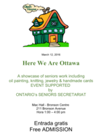 Highlight for Album: OPEN HOUSE  2016 - supported by Ontario's Seniors Secretariat