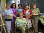 Anita, Cecilia, Irene, Julia Teresa, Maria Luisa y Olguita Rincon