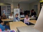 Grupo de miembros del CCA en la mañana del seminario