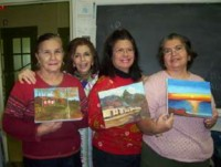 Highlight for Album: 3rd Painting Club Graduates at Club Casa de los Abuelos